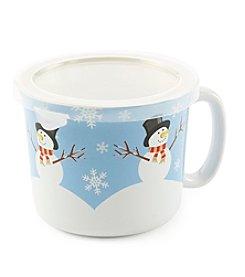 Sabatier® Snowman Ceramic Soup Mug