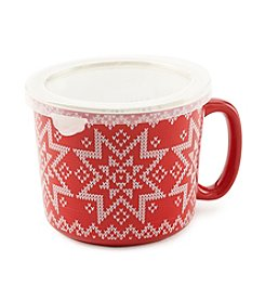 Sabatier® Fair Isle Ceramic Soup Mug