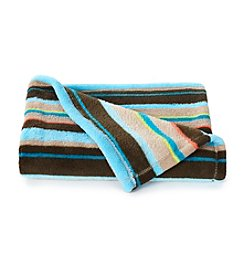 John Bartlett Pet Multi Stripe Micro Cozy Throw Blanket