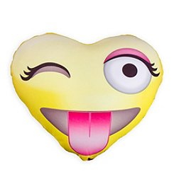 Style.Lab® Photo Real Emoji Heart Pillow