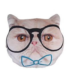 Style.Lab® Photo Real Hipster Cat Pillow