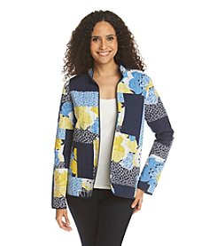Alfred Dunner® Petites' Sausalito Denim Reversible Quilt Jacket