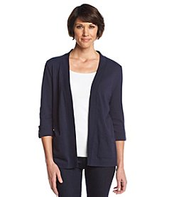 Studio Works® Solid Open Front Cardigan
