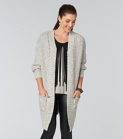 Democracy Mixed Stitch Cardigan