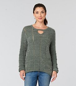 Democracy Mix Stitch Sweater