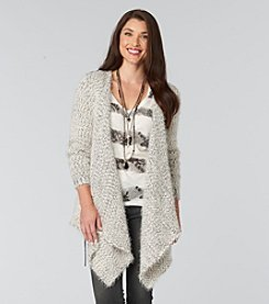 Democracy Eyelash Cardigan