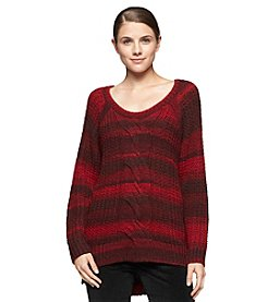 Calvin Klein Jeans® Cable Ombre Sweater