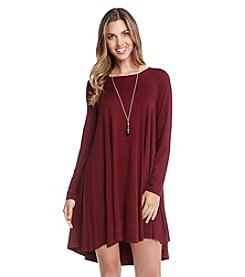 Karen Kane® Long Sleeve Swing Dress