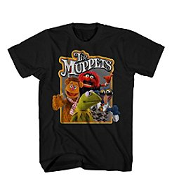 Mad Engine Men's Short Sleeve Muppets Graphic Tee