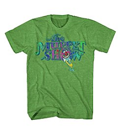 Mad Engine Men's Short Sleeve Muppet Show Graphic Tee