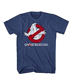 Mad Engine Men's Short Sleeve Ghostbusters Logo Graphic Tee
