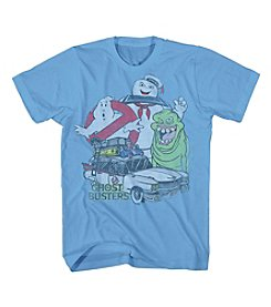 Mad Engine Men's Short Sleeve Ghostbusters Group Graphic Tee