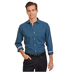 Nautica® Men's Slim Fit Wrinkle Resistant Plaid Shirt