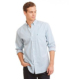 Nautica® Men's Wrinkle Resistant Slim Fit Striped Shirt