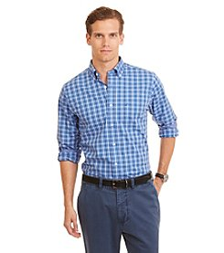 Nautica® Men's Slim Fit Wrinkle Resistant Tattersall Shirt