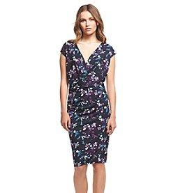 Robert Rodriguez® Printed V-Neck Dress