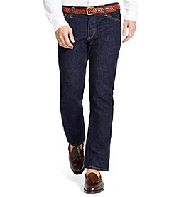 Polo Ralph Lauren Men's Varick Slim-Straight Rinse-Wash Jean