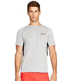 Polo Sport® Men's Short Sleeve Micro-Dot Jersey T-Shirt