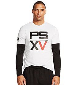 Polo Sport Men's Short Sleeve Performance Jersey Graphic T-Shirt