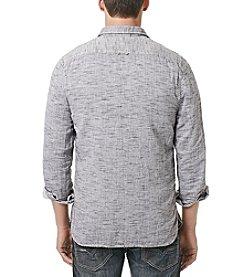 Buffalo by David Bitton Men's Long Sleeve Slub Button Down Shirt