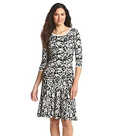 Sangria&trad; Damask Sweater Dress