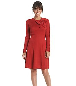 Jessica Howard® Petites' Fit And Flare Sweater Dress