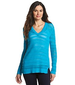 Michael Kors V-Neck Tunic Sweater