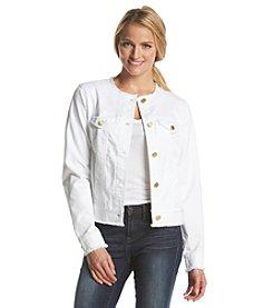 MICHAEL Michael Kors® Frayed Jean Jacket