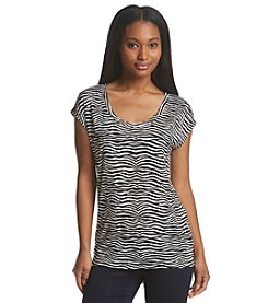 MICHAEL Michael Kors® Zebra Print Top