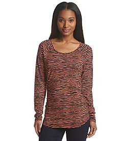MICHAEL Michael Kors® Printed Shirred Top