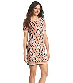 MICHAEL Michael Kors® Printed Border Dress