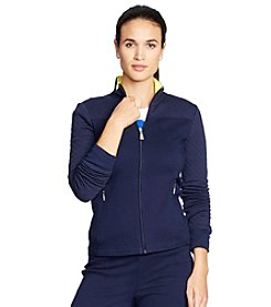 Lauren Active® Solid Mockneck Jacket