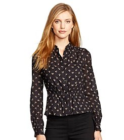 Lauren Jeans Co.® Floral-Print Cotton Shirt