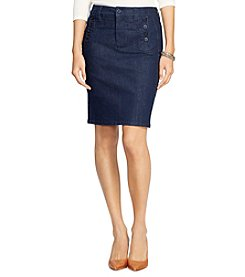 Lauren Jeans Co.® Denim Pencil Skirt