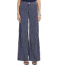 Lauren Ralph Lauren® Wide Leg Stripe Pant