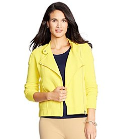 Lauren Ralph Lauren® Moto Sweater Jacket
