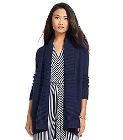 Lauren Ralph Lauren® Long Open Front Cardigan