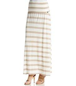 Calvin Klein Thick Stripe Maxi Skirt