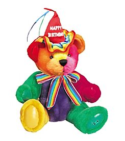 First and Main® Rainbow Birthday Bear
