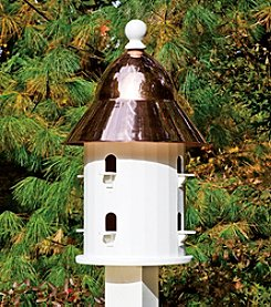 Good Directions® Lazy Hill Bell Bird House with Polished Copper Roof
