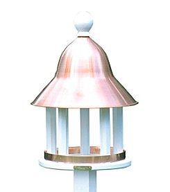 Good Directions® Lazy Hill Bell Bird Feeder with Polished Copper Roof