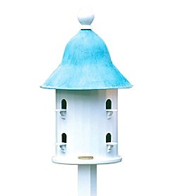 Good Directions® Lazy Hill Bell Bird House with Blue Verde Copper Roof