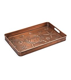 Good Directions® Venetian Bronze Seashore Multi-Purpose Boot Tray