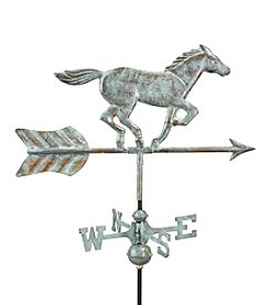 Good Directions® Blue Verde Copper Horse Weathervane