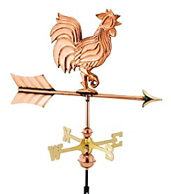 Good Directions® Polished Copper Rooster Weathervane