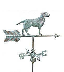 Good Directions® Garden Blue Verde Labrador Retriever Weathervane