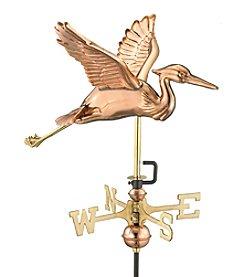 Good Directions® Garden Blue Heron Weathervane