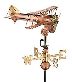 Good Directions® Garden Biplane Weathervane