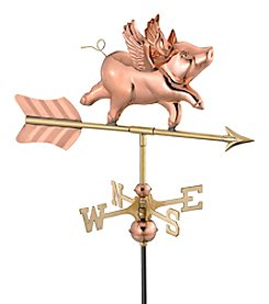 Good Directions® Flying Pig Weathervane