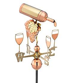 Good Directions® Standard Wine Bottle Weathervane